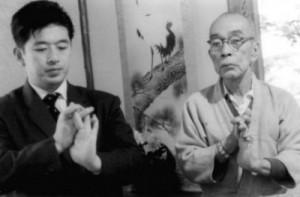 Hatsumi Sensei és Takamatsu Sensei