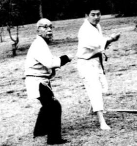 Takamatsu és Hatsumi Sensei